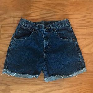 Aritzia/Wrangler Denim Shorts